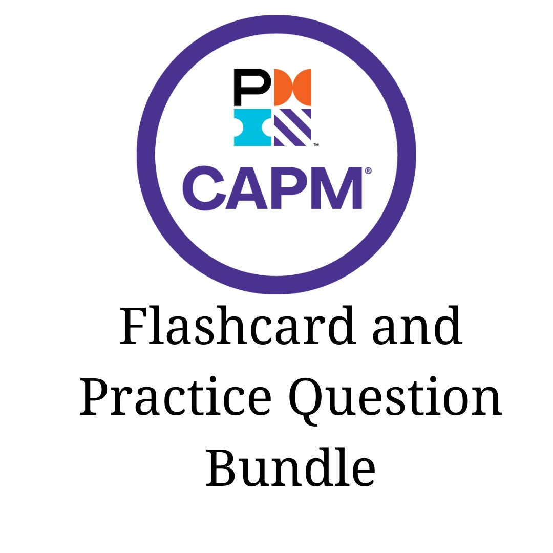 CAPM Flashcard and Practice Question Bundle