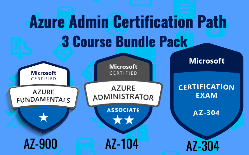 Azure Admin Certification Path (3 courses)