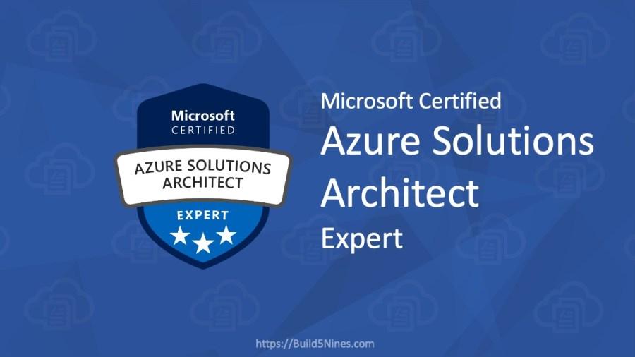 AZ-303: Microsoft Azure Architect Technologies Certification Practice Tests