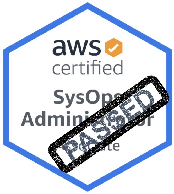 Pass AWS AWS-SysOps-Admin