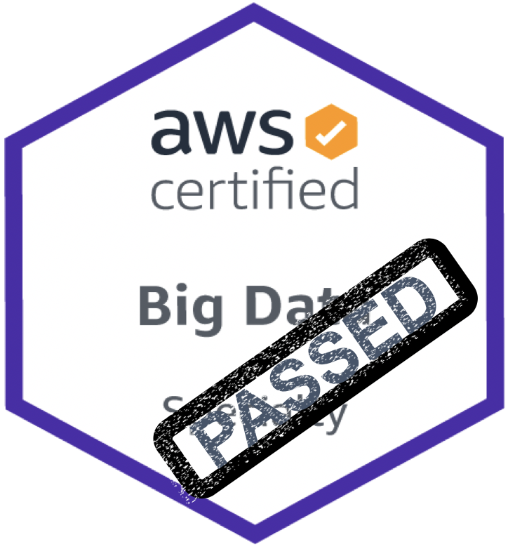 Pass AWS Big Data Certification
