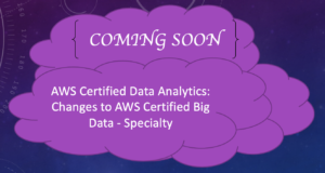 AWS Certified Data Analytics