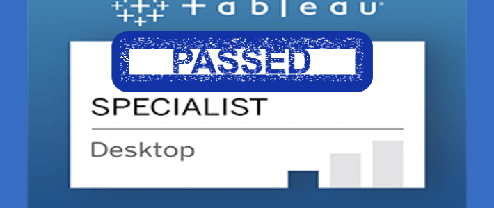 Prepare for Tableau Desktop Specialist Certification