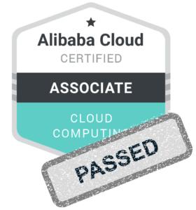 Alibaba Cloud Computing Certification