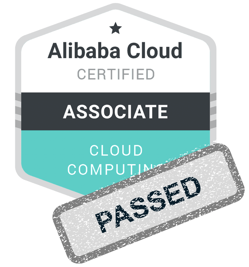Alibaba Cloud Computing Certification