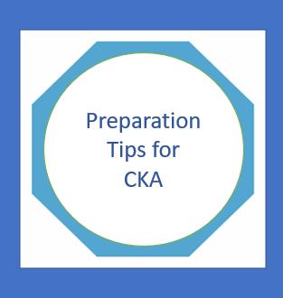 Prepare for CKA