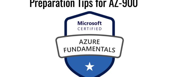 Preparation Tips for AZ-900