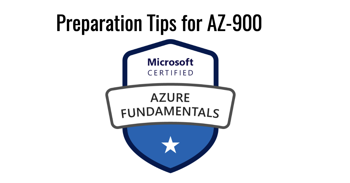 Preparation Tips for AZ-900