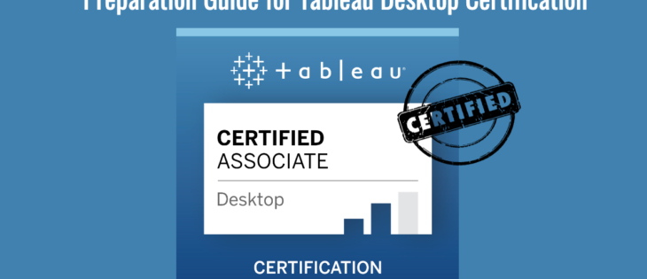 Tableau Desktop Certification