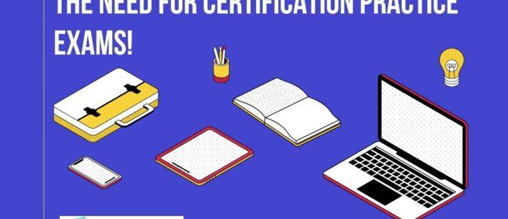 Certification practice exam