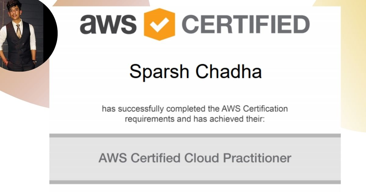How I got AWS Certified in My 3rd Year of College!