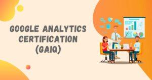 google analytics GAIQ