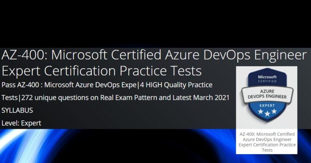 AZ-400 Practice exams